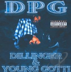 Tha Dogg Pound - Dillinger & Young Gotti CD Cover Art
