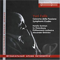 Dmitriev / Falik / St Petersburg Phil Orch - Orchestral Music CD Cover Art