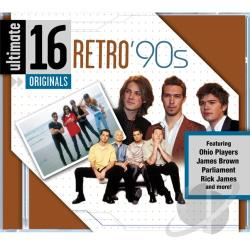 Ultimate 16: Retro '90S CD Cover Art