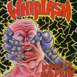 Whiplash - Power & Pain CD Cover Art
