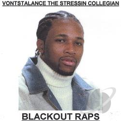 College Student Rapper - Blackout Raps CD Cover Art