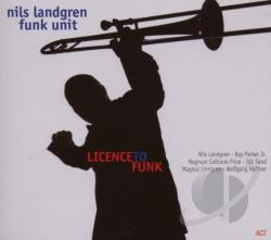 Landgren, Nils - Licence to Funk CD Cover Art