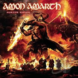 Amon Amarth - Surtur Rising LP Cover Art