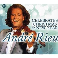 Rieu, Andre - Andre Rieu Celebrates Christmas & New Year CD Cover Art