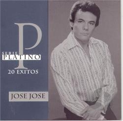 Jose Jose - Serie Platino: 20 Exitos CD Cover Art