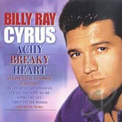 Cyrus, Billy Ray - Achy Breaky Heart CD Cover Art