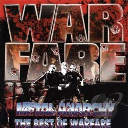 Warfare - Metal Anarchy: The Best of Warfare CD Cover Art