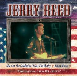 Reed, Jerry - All American Country CD Cover Art