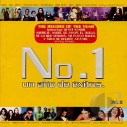 No. 1 Un Ana De Exitos - No. 1 Un Ana De Exitos Vol. 3 - No. 1 Un Ana De Exitos CD Cover Art