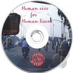 Lagosboy - Human rice for Human beans CD Cover Art