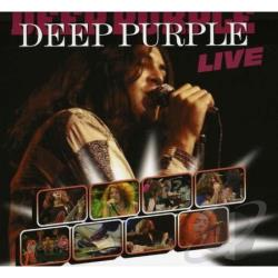 Deep Purple (Rock) - Live CD Cover Art