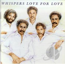 Whispers - Love For Love CD Cover Art