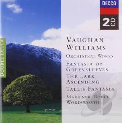 Acmf / Boult / Lpo / Marriner / Williams, Vaughan - Vaughan Williams: Orchestral Works CD Cover Art
