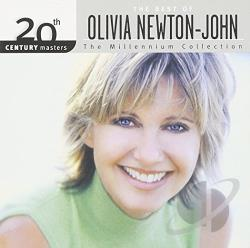 Newton-John, Olivia - 20th Century Masters - The Millennium Collection: The Best of Olivia Newton-John CD Cover Art