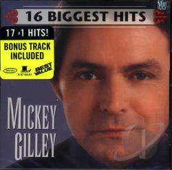 Gilley, Mickey - 16 Biggest Hits CD Cover Art