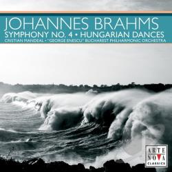 Geo / Mandeal, Christian: cnd - Brahms: Symphony No. 4; Hungarian Dances CD Cover Art