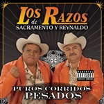 Los Razos - Puros Corridos y Nortenos CD Cover Art