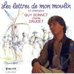 Piquemal, Michel & Bonnet - Les Lettres De Mon Moulin En Chanso CD Cover Art