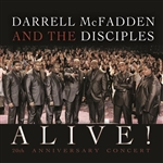 McFadden, Darrell / Mcfadden, Darrell & The Disciples - Alive! 20th Anniversary Concert CD Cover Art