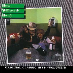 Williams, Hank, Jr. - Rowdy CD Cover Art
