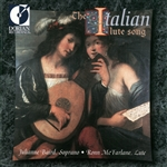 Baird / Mcfarlane - Italian Lute Song CD Cover Art