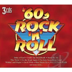 60's Rock 'N Roll CD Cover Art