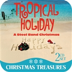 Tropical Holiday: A Steel Band Christmas CD Cover Art
