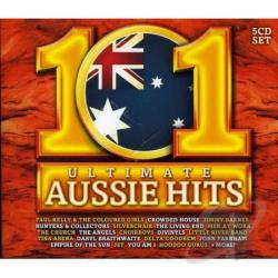 101 Ultimate Aussie Hits CD Cover Art