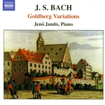 Bach / Jando - J.S. Bach: Goldberg Variations CD Cover Art