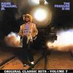 Williams, Hank, Jr. - Pressure Is On CD Cover Art
