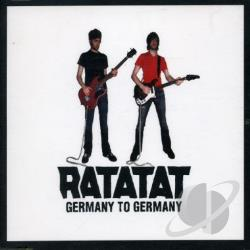 Ratatat - Germany To Germany DS Cover Art