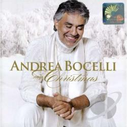 Bocelli, Andrea - My Christmas CD Cover Art