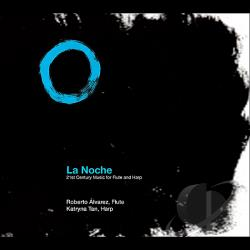 Alvarez, Roberto - La Noche: 21st Century Music for Flute and Harp CD Cover Art