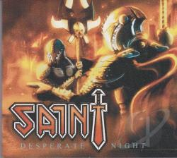 Saint - Desperate Night CD Cover Art