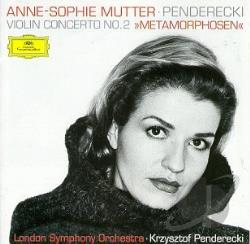 London Symphony / Mutter / Penderecki - Penderecki: Violin Concerto No. 2 (Metamorphosen) CD Cover Art