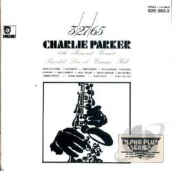 Charlie Parker 10th Memorial Concert 3/27/65 CD Cover Art
