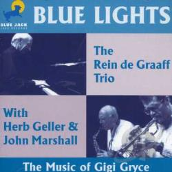 Graaf, Rein - Blue Lights CD Cover Art
