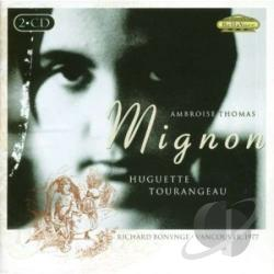 Bonynge / Thomas / Tourangeau - Thomas: Mignon CD Cover Art