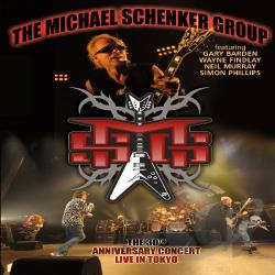 Schenker, Michael - 30th Anniversary Concert: Live in Tokyo CD Cover Art