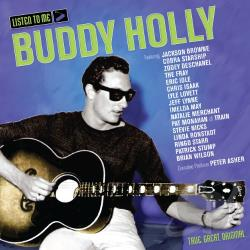 Listen to Me: Buddy Holly CD Cover Art