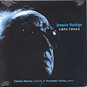 Rodrigo, Joaquin - Canciones CD Cover Art