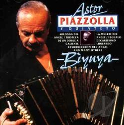 Piazzolla, Astor - Biyuya CD Cover Art