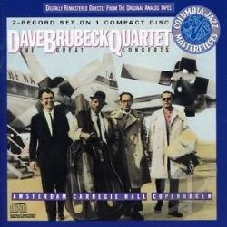 Brubeck, Dave - Great Concerts: Amsterdam, Etc. CD Cover Art