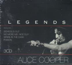 Cooper, Alice - Legends CD Cover Art