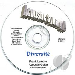 Lefebre, Frank - Acoustic Synergy! Diversite CD Cover Art