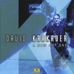 Krakauer, David - New Hot One CD Cover Art