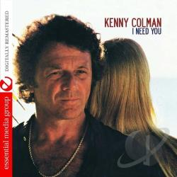 Colman, Kenny - I Need You CD Cover Art