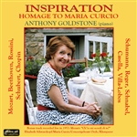 Goldstone / Mozart / Reger / Schubert - Inspiration: Homage to Maria Curcio CD Cover Art