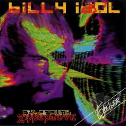 Idol, Billy - Cyberpunk CD Cover Art