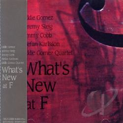 Gomez, Eddie - What's New At F CD Cover Art